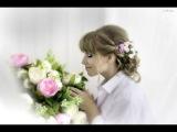Красивые Розы на Шпильке для Волос Своими Руками Ribbon Flower  DIY Kanzashi