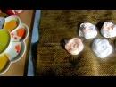 Косметичка пенал своими руками Часть 1 Вышивка лентами Розы паутинки тонировка Мини хозяйка