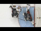 Bobrovsky stretches out to rob Neal with great pad save