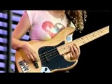 Best FEMALE Bass player in the world! Tal Wilkenfeld Jamming with JEFF BECK
