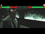 Neo vs Agent Smith with healthbars