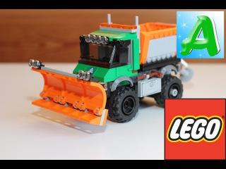 Lego City 60083 Snowplow Truck - Лего сити 60083 снегоуборочный грузовик