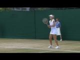 Wimbledon 2011 QF | Nuria Llagostera-Vives/Arantxa Parra Santonja - Sania Mirza/Elena Vesnina