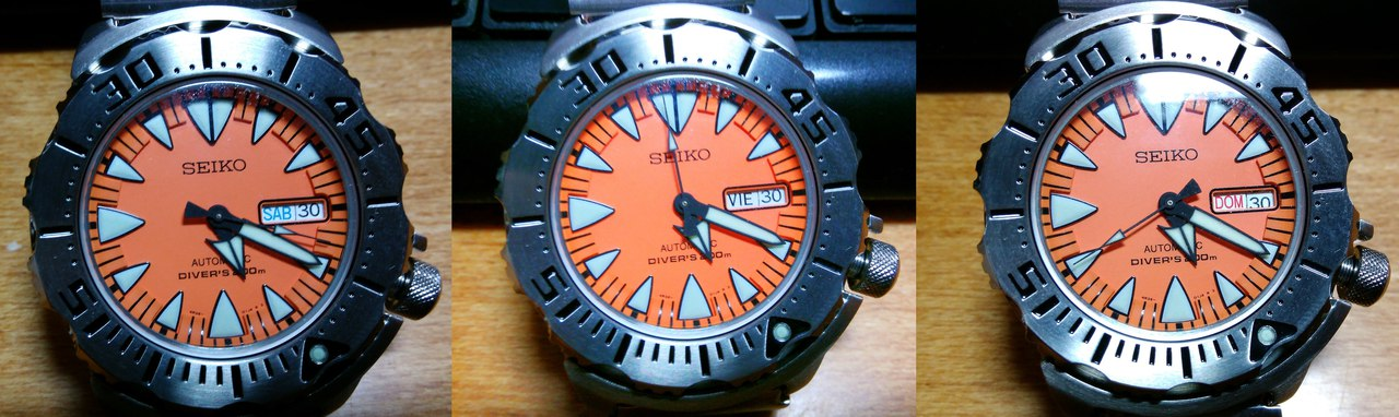 Другие: Брутальные дайверы Seiko SRP309K1 - радостный пост!