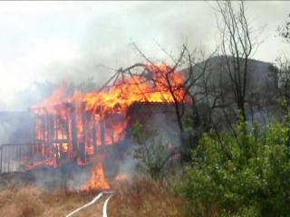 Пожар 19.06.2015 г. с. Карагали, д/о