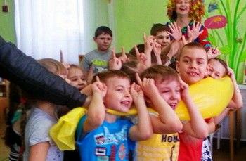 Детский праздник в детском саду Геннадий Тахтабаев