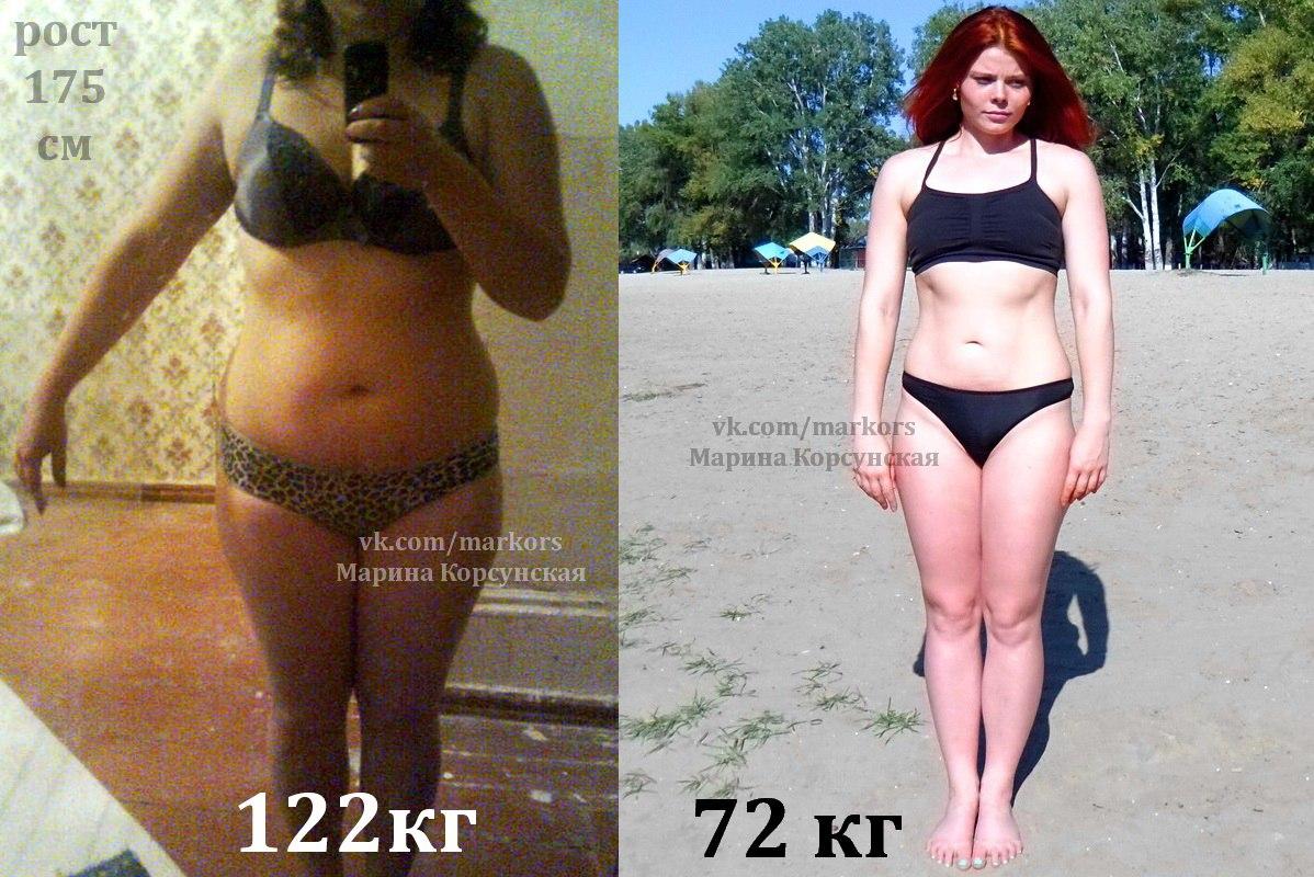 как похудели девушки фото
