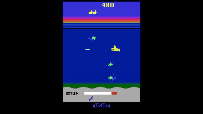 Deepmind Atari playing Seaquest