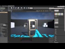 Unreal Engine 4. Blueprint. Урок 5. Свободная дверь на петлях Constrain Door
