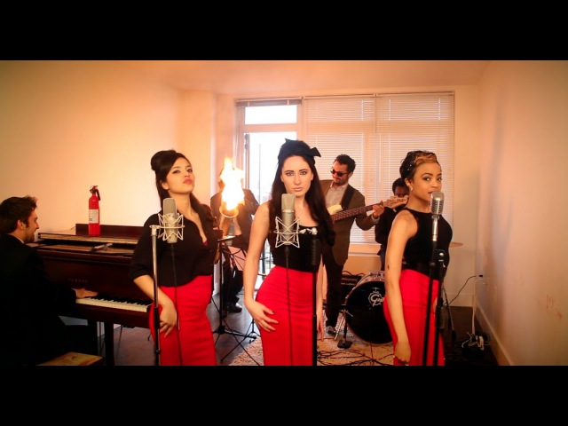 Burn Vintage '60s Girl Group Ellie Goulding Cover with Flame O Phone