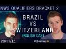 Brazil vs Switzerland - NationWars III - Qualifiers Bracket 2 - Match 2 [EN]
