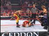 Armageddon 2003 - Lita and Trish Stratus vs. Christian and Chris Jericho