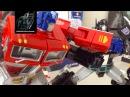 Transformers Stop Motion- MP10 Optimus Prime vs Nemesis Prime Stop Motion
