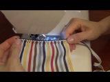 Как сшить шорты и юбки на резинке вместо пояса