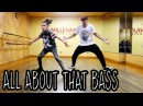 ALL ABOUT THAT BASS - Meghan Trainor Dance | @MattSteffanina ft 11 y/o Taylor Hatala
