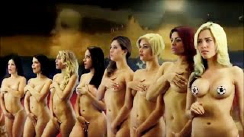 Venezuelan Desnudando la Noticia Presenters Strip NAKED To Support Team In Copa America(VIDEO)