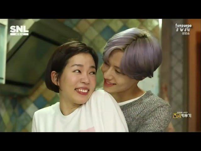 [ENG] 150530 SHINee SNL Korea - [Grow a Boy] part 1