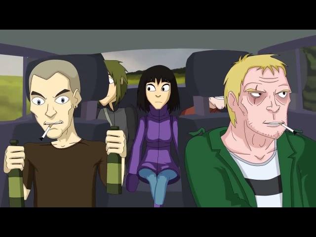 School 13 (The Story of Two Hitchhikers) / (История двух автостопщиков)
