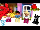 Lego Duplo Playhouse Toys Cartoon in Stop Motion and Toys Review 10505 - Kids Video 4K