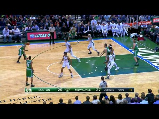 Boston Celtics vs Milwaukee Bucks. 11.10.2015