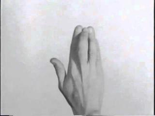 Hand-Movie, de Yvonne Rainer (1966)