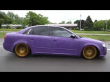 B7 Audi a4 Purple Plasti Dip USA