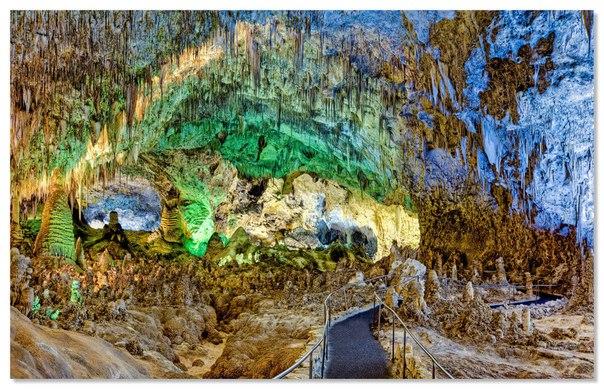 Карлсбадские пещеры — удивительный природный мир