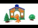 Тайни и Бадди собираются в путешествие на поезде динозавров. Развивающий мультфильм.