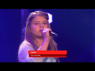 Leilani- one and only | голос дети:германия | the voice kids of germany 26.2.2016