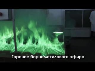 Самые красивые химические реакции