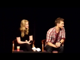 QA Elizabeth Lail and Scott Michael Foster