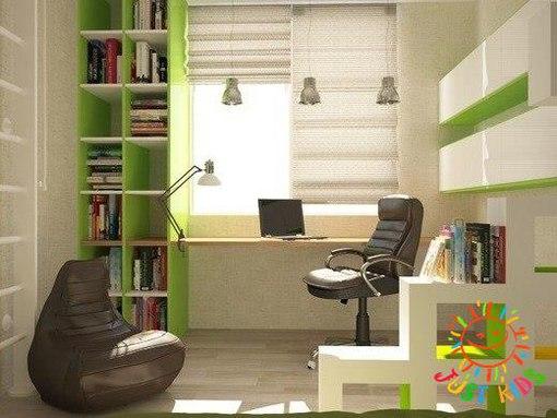 Дизайн одной комнаты плюс ребенок