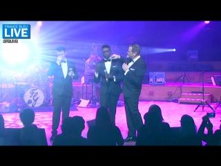Garou, Corneille, Roch Voisine (Forever Gentlemen) - For me formidable - France Bleu
