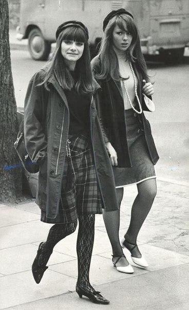 Уличная мода, 1966 год.