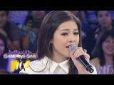 Janella Salvador sings My All on GGV