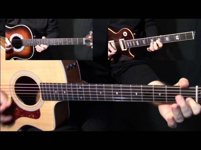 How to play Wild Horses on guitar by the Rolling Stones Part 1 - acoustic guitar lesson tutorial