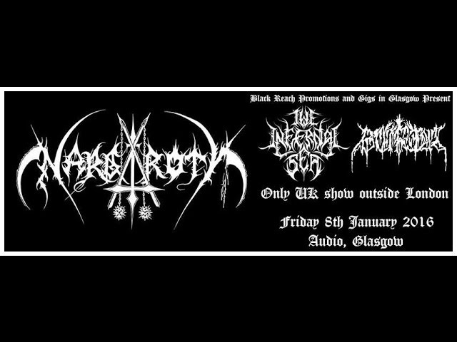 Nargaroth (GER) - Live at the Audio, Glasgow 8th January 2016 FULL SHOW HD