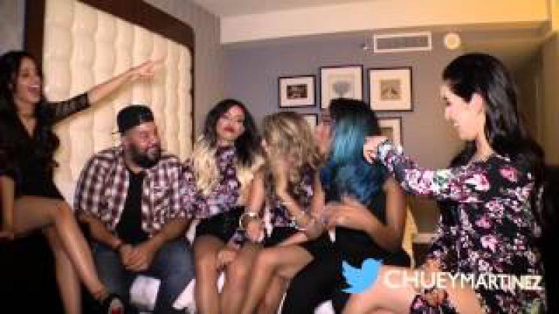 Fifth Harmony *Exclusive* with Chuey Martinez