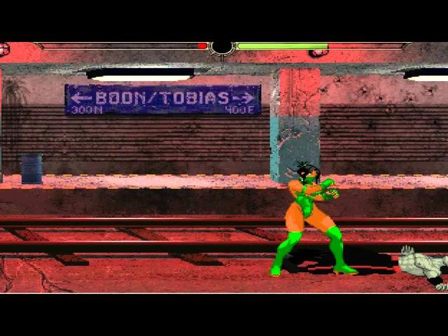 Free Mortal Kombat Mugen Game WIP: Jade vs Zombie Liu Kang Mugen