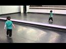 2 Year Old Hitting Hip Hop Choreography