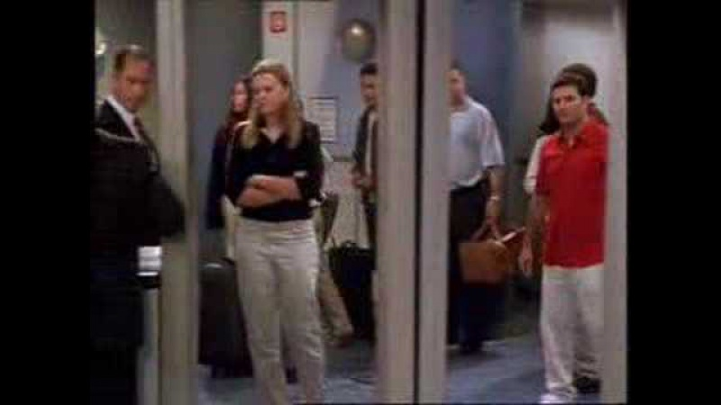 Friends Airport Security deleted scene
