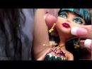Распаковка Клео с оазисом 13 Желаний Cleo de Nile 13 Wishes Monster High обзор на русском