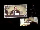 Matt Smith, Natalie Dormer &amp John Bradley Talk White Walkers &amp Zombies SDCC Hall H San Comic-Con