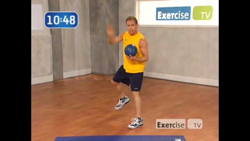 Michael Carson - Exercise TV Slim Down Fast Fat Burning Cardio