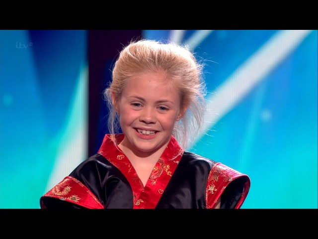 Jesse-Jane McParland - Britain's Got Talent 2015 Semi-Final 5