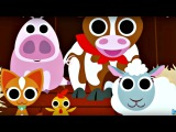 Ферма: Домашние животные. Игры для детей - Обзор приложения Peekaboo Barn Farm Day