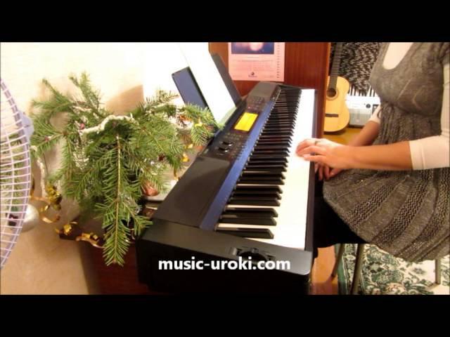Уроки игры на фортепиано. Посадка за инструментом. Школа Piano online - Урок 1