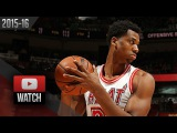 Hassan Whiteside Full Highlights vs Wizards (2016.02.20) - 25 Pts, 23 Reb, BEAST!
