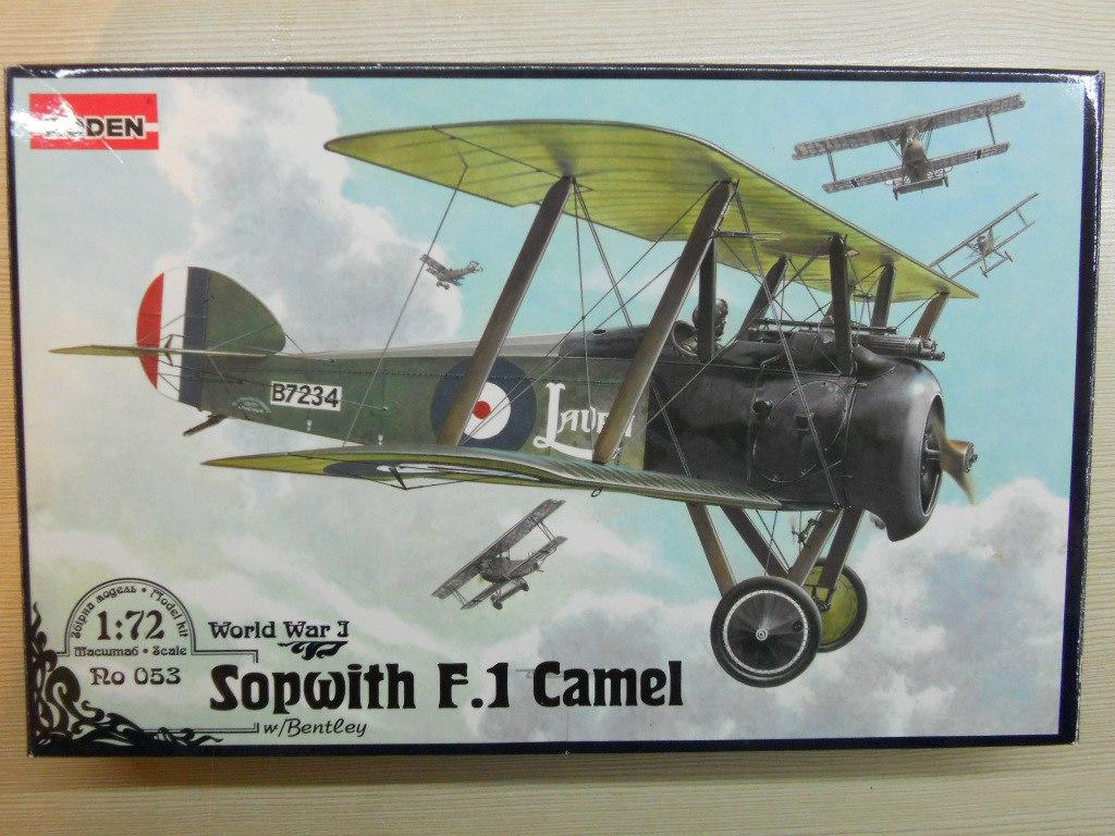 Sopwith F-1 Camel 1/72 (Roden)   DzHuCoJZnNM