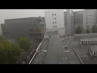 Град Потоп в Санкт-Петербурге в июле 2015. 17.07.2015